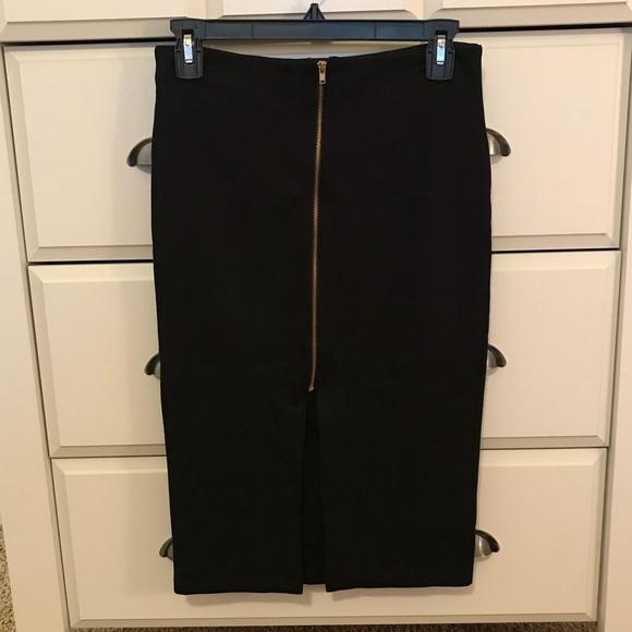 Iris Basic Dresses & Skirts - Zip front pencil skirt